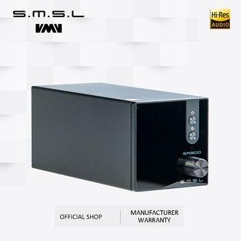 SMSL SA300  High Power Bluetooth 5.0 HiFi Remote Digital Amplifier Desktop Power Amplifier Amp 80W Analog