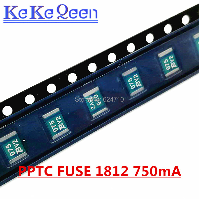 1812 Price For 5 750MA BOURNS FUSE RESETTABLE PTC 13.2V MF-MSMF075-2