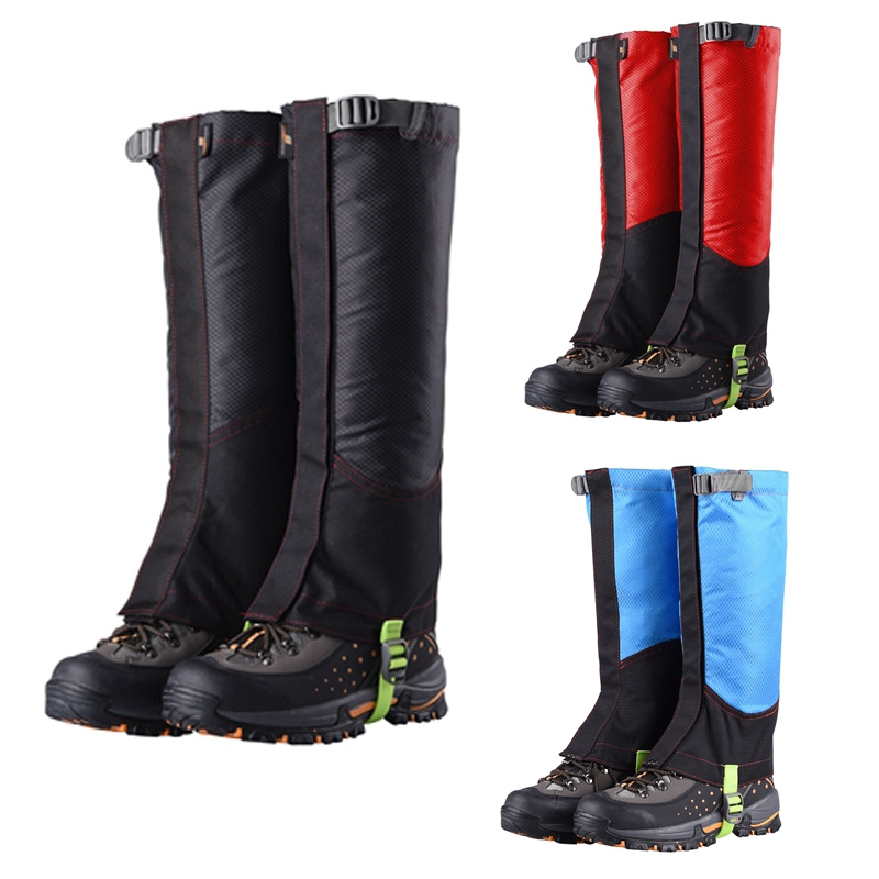 Outdoor Waterproof Wear-resistant Mountaineering Leggings Ski Leg Sets Climbing Snow Cover Dust Leg Cover
