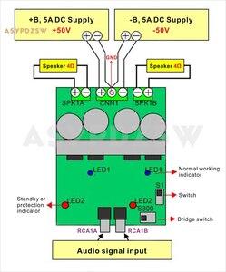 Image 5 - L15DX2 IRS2092 IRFI4019H classe D amplificateur de puissance numérique carte finie double canal IRAUDAMP7S 125W 500W