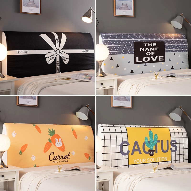 Europeanstyle Bed Cover 120-220cm All Inclusive Fabric Dust Proof Elastic Double Bed Headboard Cover Protective Cover