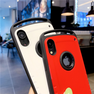 Image 4 - Root Go Anti Knock Case for iPhone 11 Pro Max X XR XS 7 8 Plus Shockproof Back Shell Cover Hard PC Silicone Hybrid Capa Coque