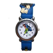 Hbibi Good quality Children Watch Cartoon Batman Wristwatch Cool rubber Kids Watches for Child Boy Girls Birthday gift Clock
