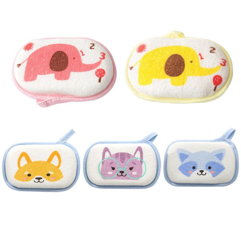 Bath Brushes Comfortable Soft Towel Infant Children Rub Baby Rubbing Body Wash Sponge Body Wash Towel Accessorie Shower Products