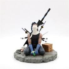 Naruto Momochi Zabuza Tears Ending Ghost Cut Broadsword PVC Action Figure Sasuke Kakashi Fighter Collection Model 19cm