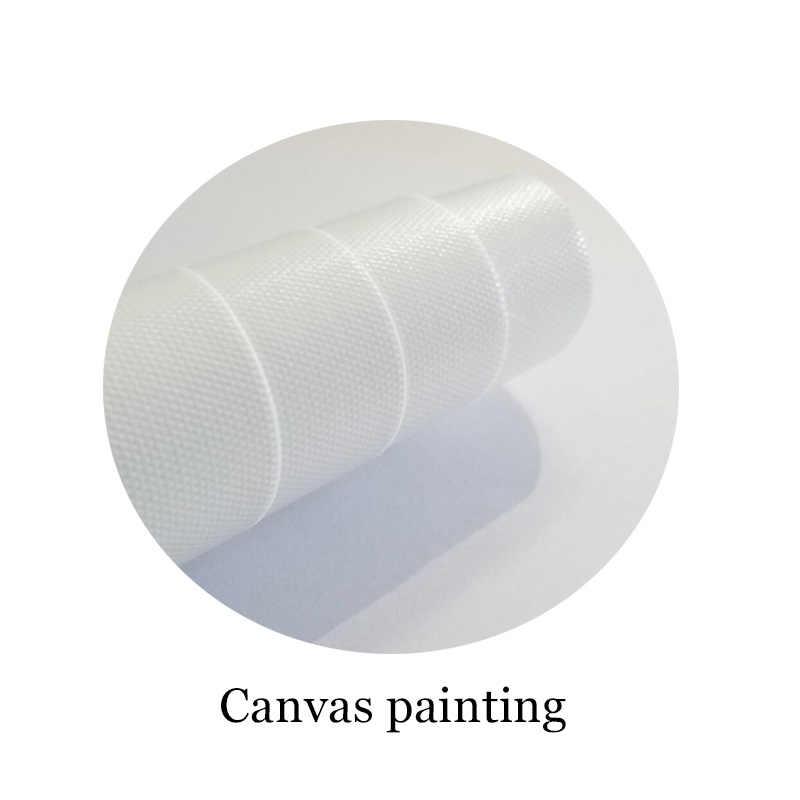 Niebieski i biały zbiornik na imbir drukuj Chinoiserie Chic Canvas artystyczny obraz niebieski biały Chinoiserie wazon i porcelanowe obrazy Giclee