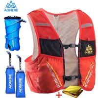 AONIJIE 5L Трейл гидратация жилет рюкзак для пешего туризма Велоспорт Кемпинг марафон рюкзак сумка для бега