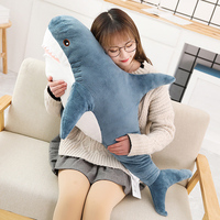 Sleeping Pillow Animal Fish Travel Cute Popular Shark Plush Toys Pillow Toys Companion Toy Stuffed 5PCs Gift Shark Popular