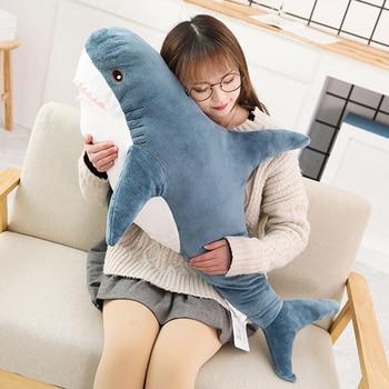 Sleeping Pillow Animal Fish Travel Cute Popular Shark Plush Toys Pillow Toys Companion Toy Stuffed 5PCs Gift Shark Popular
