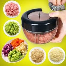 Ручной кухонный измельчитель 3 струны лезвий для овощей фруктов