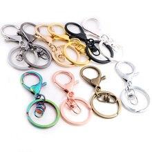5 шт/лот 30 мм кольцо для ключей длиной 70 популярное классическое