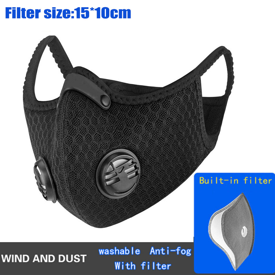 VIP Link 1-10pcs Pro Cycling With 5lays Filter Protective Carbon Sport Training Bike