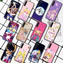 Sailor Moon Anime Phone Case For XIAOMI Redmi 8 9 9C Note 6 7 8 9 9S K20 K30 K40 Pro Plus black Bumper Pretty Cell 3D Prime