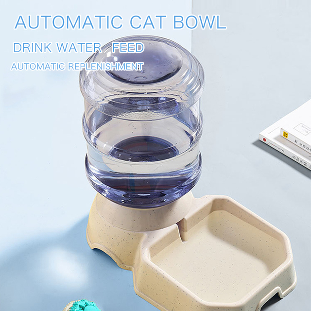 Kitten & Puppy Bowl Automatic Feeders 2