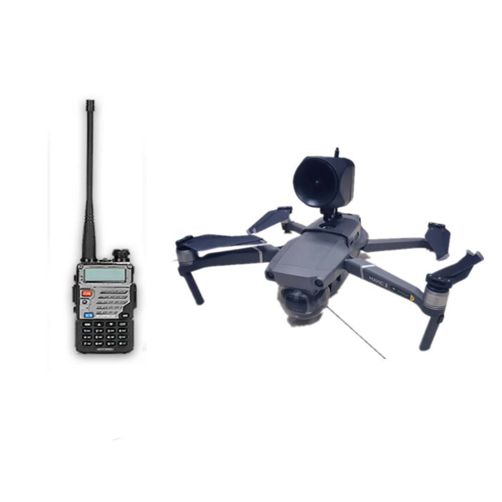 3- 5km 105 DB Drone Wireless Speaker Megaphone For DJI Mavic Pro Mavic 2 Pro