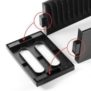 Image 5 - Para ps4 magro pro console jogos caixa de cartão disco armazenamento caso torre cd suporte para ps4 magro pro game console