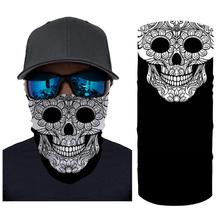 Men Women Cycling Gas Mouth Mask Motorcycle Face Scarf Sun Protection Outdoor Riding Masks Protective Silk Neck