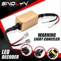 Sinolyn H1 H4 H7 H11 D2 Led-lampe Lampe Canbus Warnung Canceler Decoder Fehler Kostenloser Für Bi LED/Nebel objektiv Scheinwerfer 9V-16V Decoder