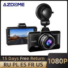 Car DVR Recorder Park Dash-Cam G-Sensor Azdome M01 ADAS Night-Vision Monitor 3-Inch 1080P