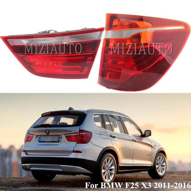 LED Left For BMW E84 X1 2013 2014 2015 Inner Taillight Rear Lamp NEW Tail Light