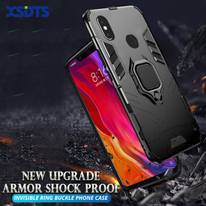 Противоударный чехол для Xiaomi Pocophone F1, F2, X2 Pro, MI9, MI8, SE, MI Play 8, 9, 5X, 6X, A1, A2, A3 Lite, чехол из поликарбоната и ТПУ