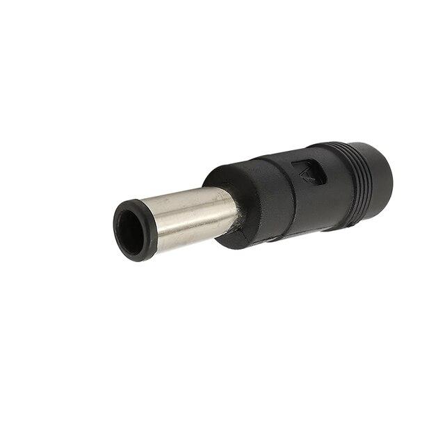 Zasilania DC wtyczka Jack Adapter 5.5x2.1mm gniazdo żeńskie do 6.0x4.4mm męski końcówka do konwersji złącze zasilania DC do ładowania laptopa
