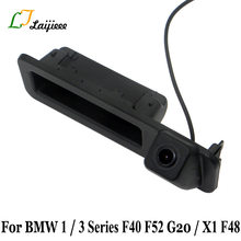 For BMW 1 Series F40 F52 / 3 Series G20 / X1 F48 2018 After Reverse Camera / Car Trunk Handle Rear View Backup Parking Camera(China)