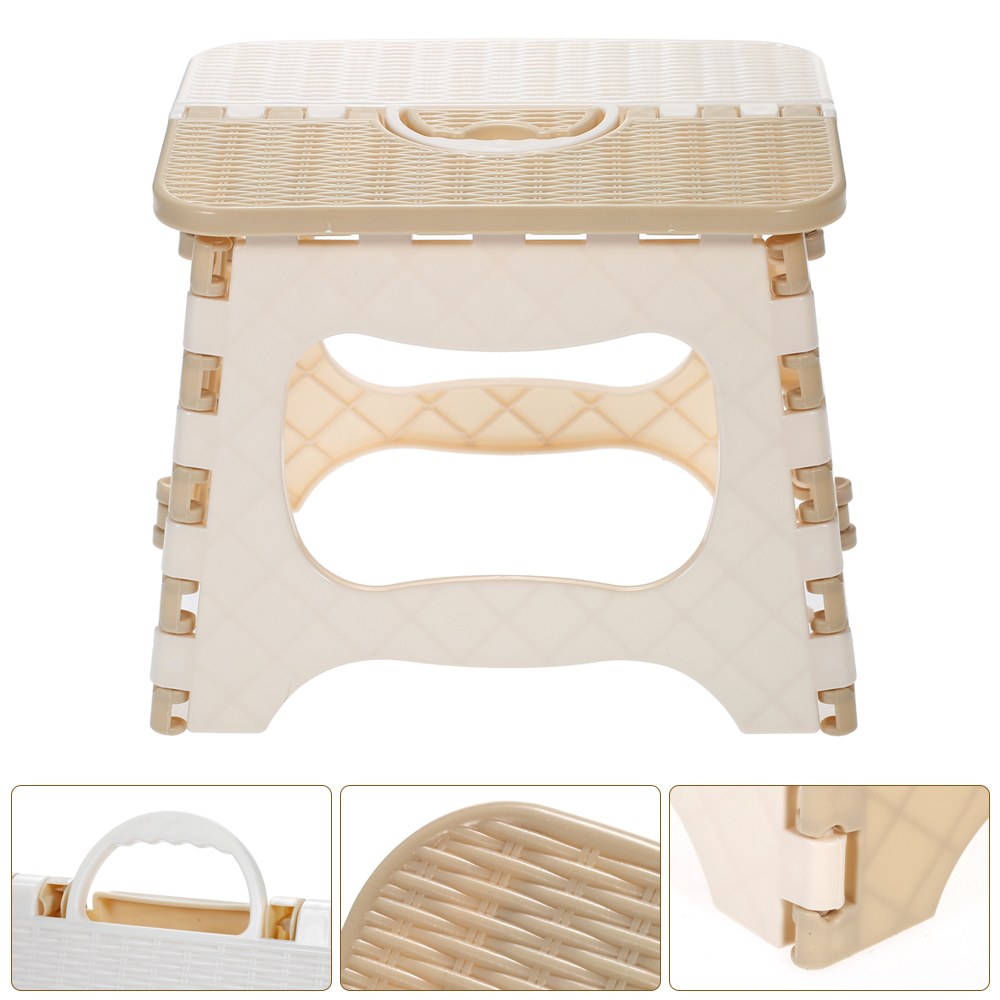 New Children Furniture Plastic Folding Stool Portable Folding Chair Small Thicken Chair Home Furniture Child Convenient Dinner S