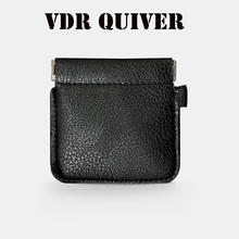 VDR Quiver Plus Magic Tricks Magia Coin Purse Leather Magician Close Up Street Illusions Gimmick Prop Appear Vanish Magica