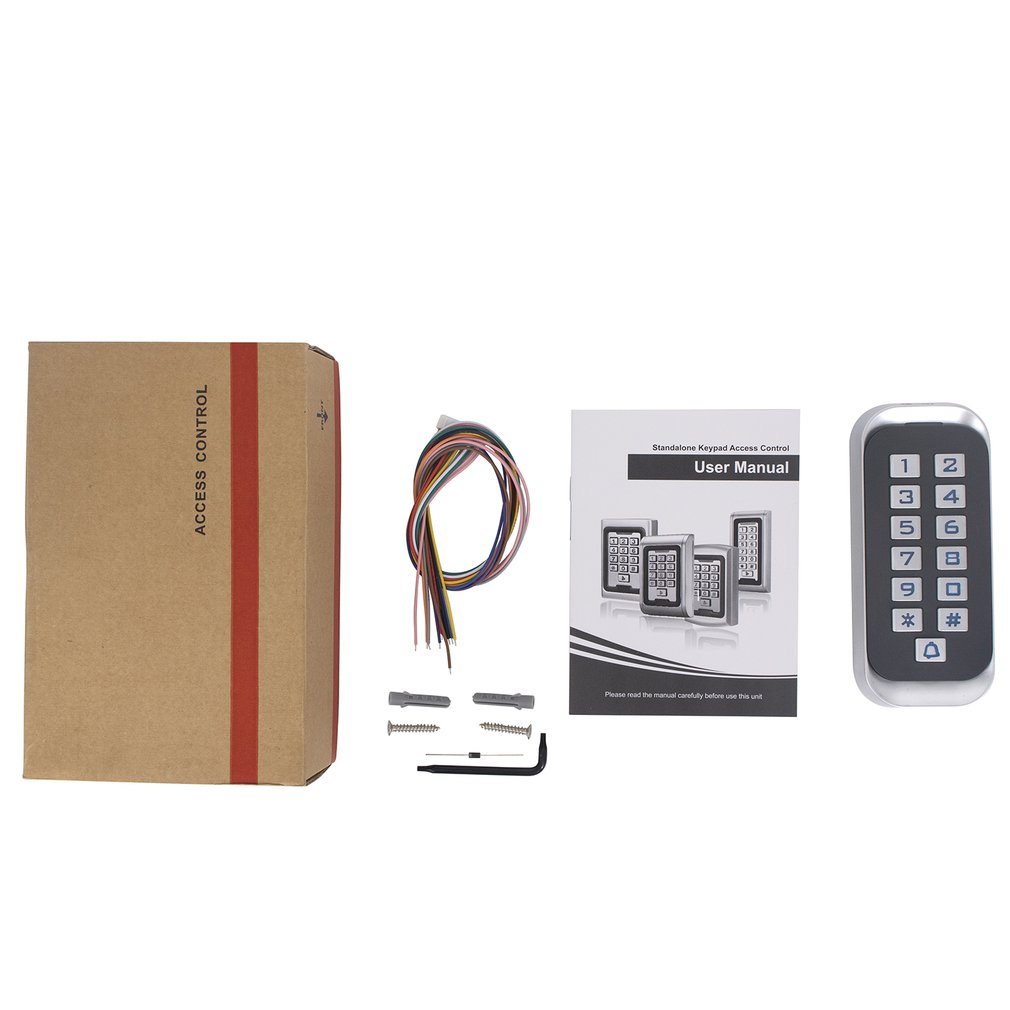 H3 Durable Metal Password ID Version Access Control Machine Card Password Opening Anti-smashing Access Control Reader