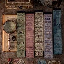 Bloc de notas Vintage Retro antiguo, paquete de papel, diario, álbum de recortes, venta al por mayor