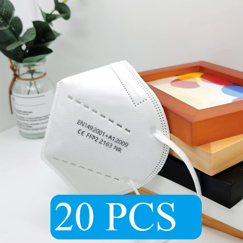 White 20 PCS