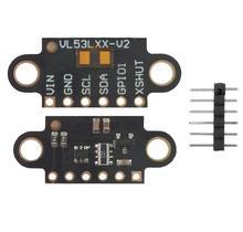 VL53L1X الليزر تتراوح زمن الرحلة الاستشعار وحدة المسافة 400 سنتيمتر قياس لوحة تمديد وحدة CJMCU 531