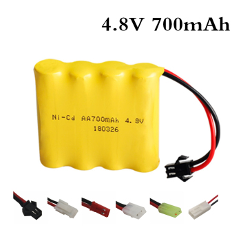 4.8 V 700mAh NI-CD Remote Control Toys Tank Robot Boat Electric Toy Security Facilities Electric Toy AA Battery Battery Group image