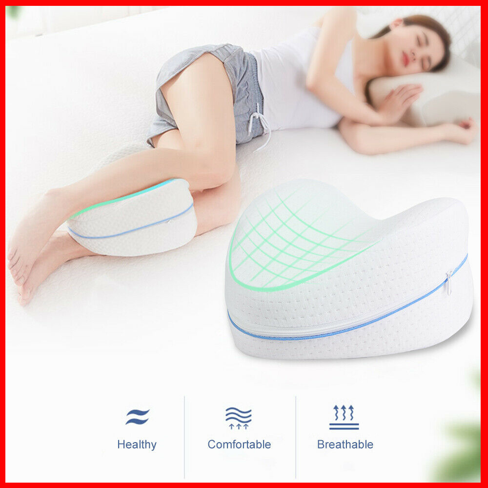 Memory Foam Leg Pillow Sleeping Orthopedic Sciatica Back Hip Joint Pain Relief Thigh Leg Pad Cushion Home Textiles