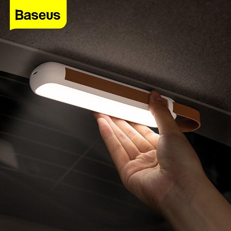 Baseus Солнечный Автомобильный аварийный светильник, перезаряжаемый светодиодный фонарь на магните Предупреждение ющий фонарик, ночной Светильник для дома, кемпинга, лампа для чтения|Аварийное освещение|   | АлиЭкспресс