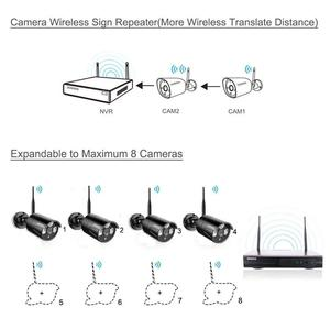 Image 2 - Security Camera System Wireless 8CH 1080P NVR Kit 4pcs 720P(1.0M) Outdoor CCTV Wireless IP67 Camera Video Surveillance by OOSSXX