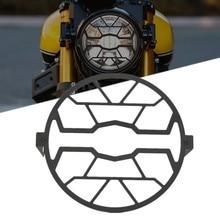 Proteção do farol da motocicleta capa para yamaha xsr700 xsr 700 900 xsr900 2016 2017 2018 2019 2020 acessórios farol guarda
