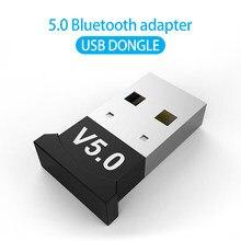 Usb adaptadores bluetooth bt 5.0 usb sem fio adaptador de computador receptor áudio transmissor dongles portátil fone de ouvido mini remetente aptx