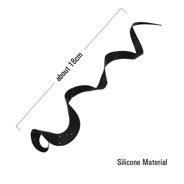 Awesome No1 Fishing Silicone Skirts Streamer Lures Fishing Lures cb5feb1b7314637725a2e7: Black 10pcs|Gold 10pcs|Green 10pcs|Orange 10pcs|Red 10pcs|White 10pcs