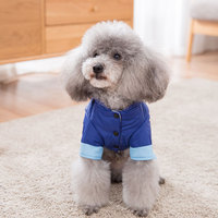 Pet Dog Clothes Pet Warm Jacket Coat Thickened Dog Clothing Cotton Coat For Little Medium Dogs