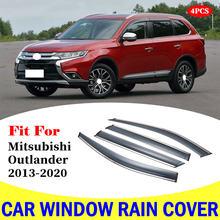 4 шт дождевики для автомобиля mitsubishi outlander 2013 2020