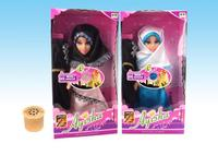 14 inch Muslim Doll with Arabic IC, Children Play Set Lovely Music Toys, Hooded Accessories Puppets, Factory Direct Outlets Sell
