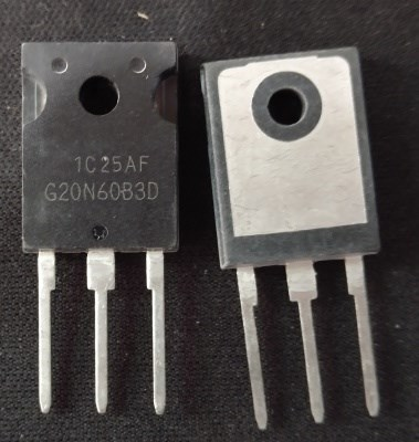 5pcs//lot G20N60B3D HGTG20N60B3D 40A//600V//165W IGBT TO247