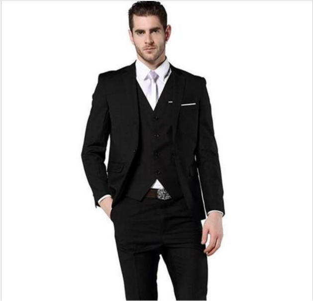 New Classic Men's Suit Smolking Noivo Terno Slim Fit Easculino Evening Suits For Men Wedding Party Blazer Groom Tuxedos Costume