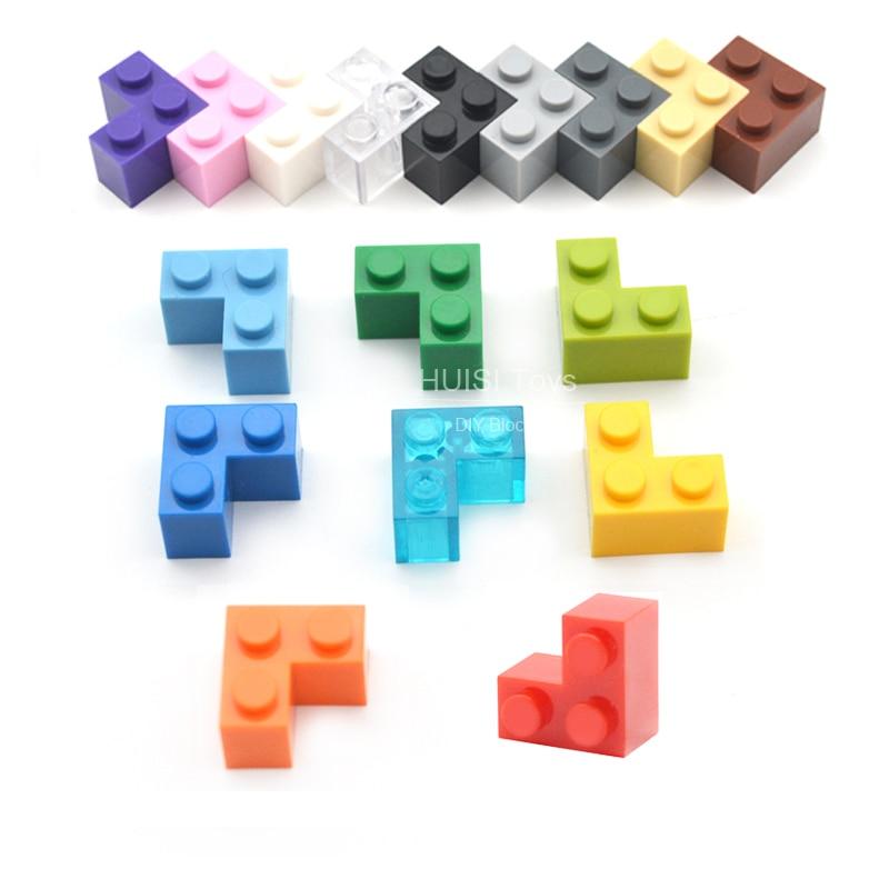 Kids Learnig Toys High Thick Brick 1+2* DIY Enlighten Block Bricks Building Toys Compatible With Legoe Assembles Particles 50pcs