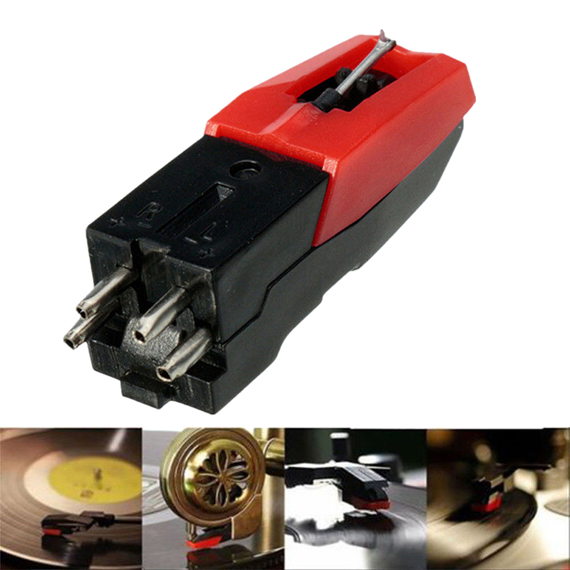 Turntable Diamond Stylus Needle for <font><b>LP</b></font> Record Player Phono Ceramic <font><b>Cartridge</b></font> image
