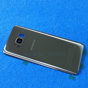 Image 5 - S8 Back Battery Cover Housing For Samsung Galaxy S8 Plus S8+ G955 G955F G955FD S8 G950 G950F G950FD Back Rear Glass Case