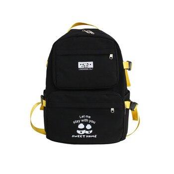 School Bag for Boys/Girls Canvas Backpack Teenager Outdoor Casual Bookbag Fashion 7 8 Grade Daypack Durable Lightweight Rucksack thikin mochila bts backpack for women pu leather rucksack teenager girls fashion rap monste bangtan boys mini bagpack daypack