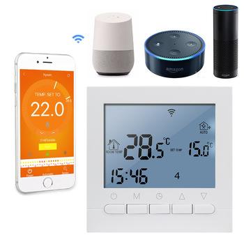 16A AC 220V WIFI układ elektryczny regulator temperatury APP kontroluje termostat WIFI i sterowanie ręczne termostat do ciepłej podłogi tanie i dobre opinie KETOTEK CN (pochodzenie) WIFI Smart Thermostat